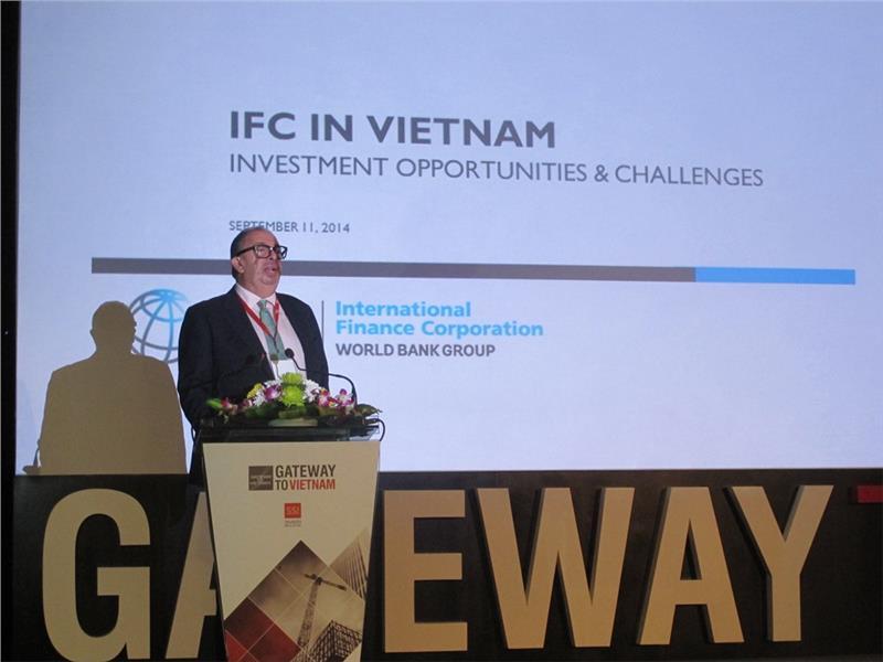 Mr. George Joseph Ghorra, representative of IFC in Vietnam