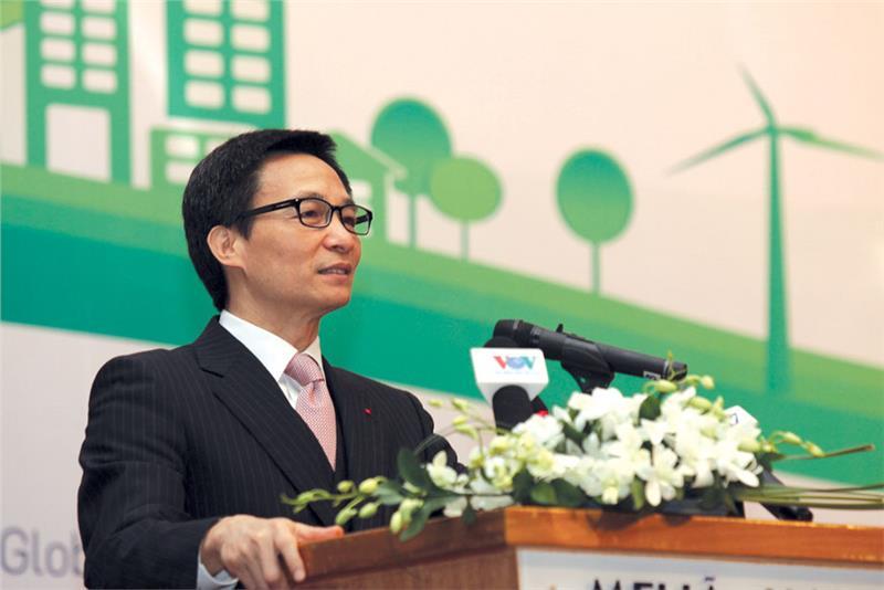 Mr. Vu Duc Dam - Deputy PM speaks at VSDB Forum
