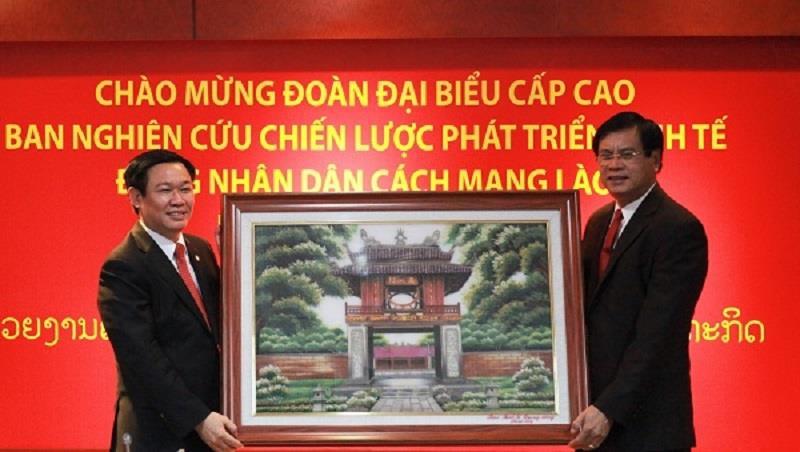 Lao - Vietnam economy development research cooperation