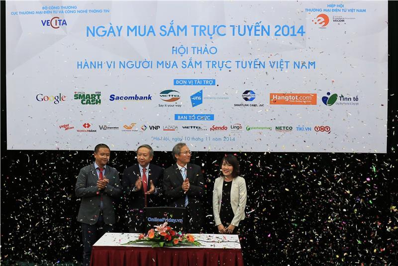 Online shopping day in Vietnam in 2014
