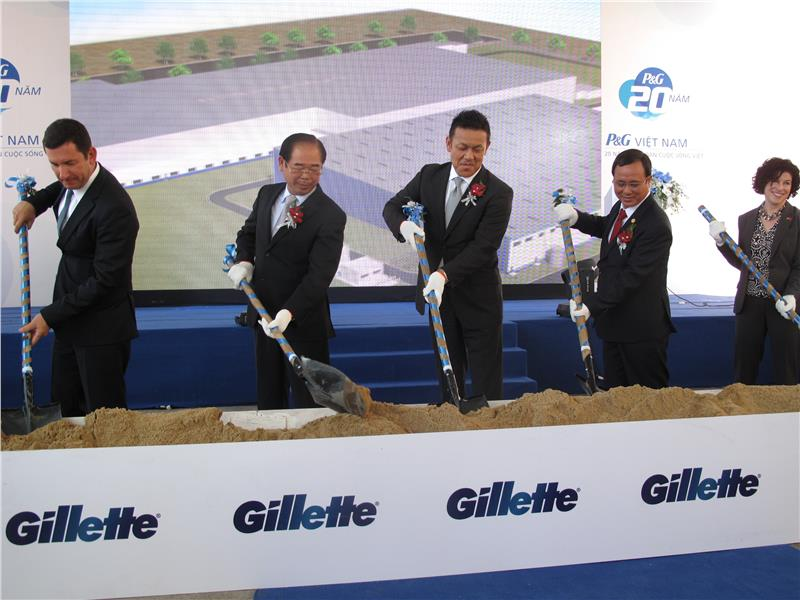Opening ceremony of the 3rd factory of P&G in Vietnam