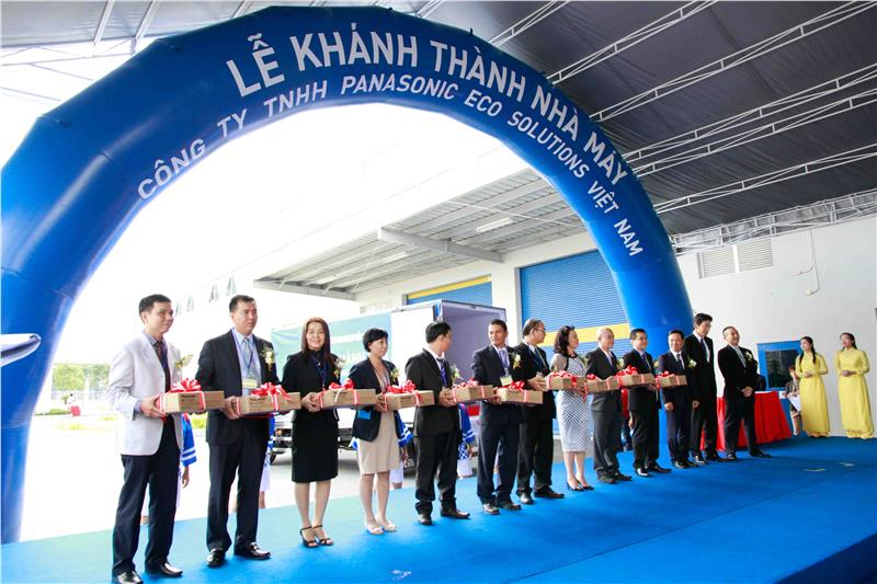 Panasonic Eco Solutions Vietnam open ceremony
