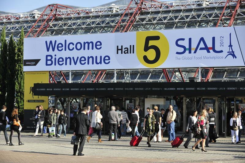 SIAL Paris 2012 entrance