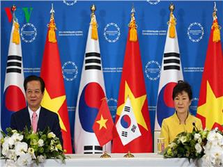 The conclusions of Vietnam - Korea Free Trade Agreement