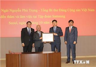 Samsung Vietnam adopts $1.4b for investment