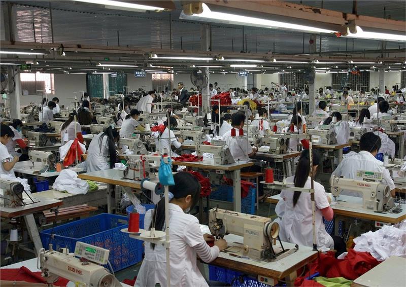 Textile production in Vietnam