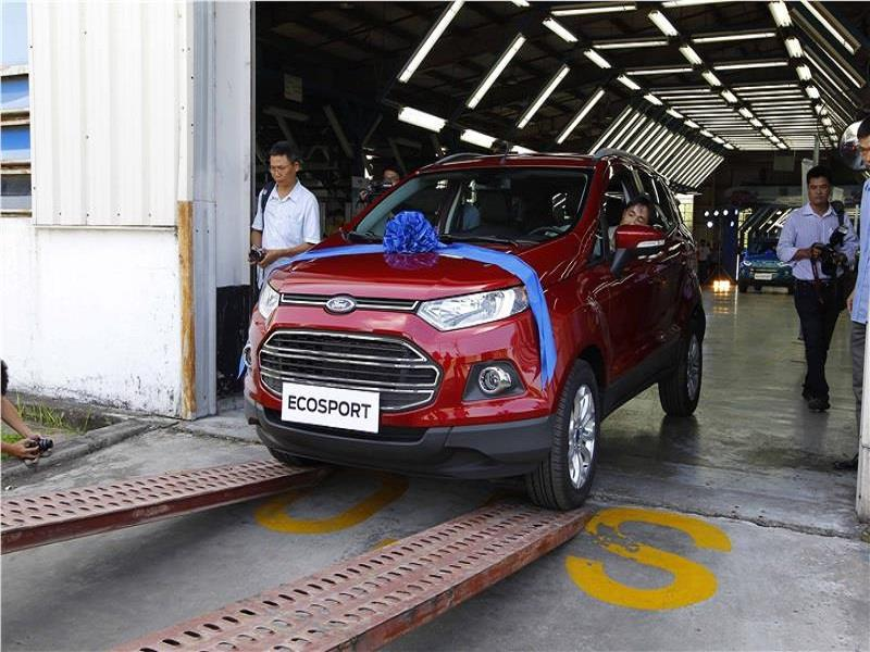 The first Ecosport released in Vienam