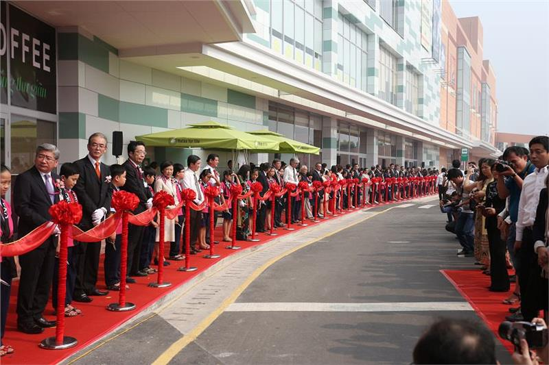 The opening ceremony of AEON Mall Tan Phu