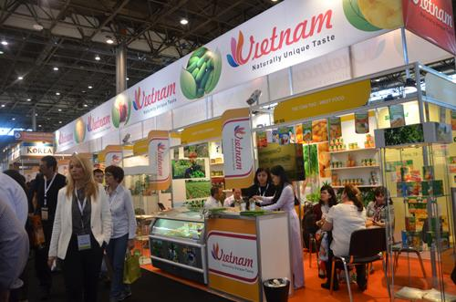 Vietnam agricultural products displayed in SIAL Paris 2014