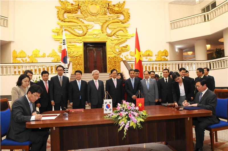 Vietnam - Korea Free Trade Agreement signing ceremony