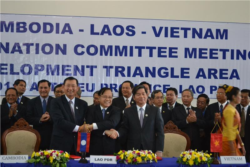 Vietnam - Laos - Cambodia Development Triangle cooperation