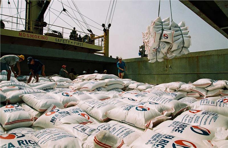 Vietnam rice export to Africa