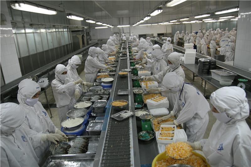 Vietnam shrimp export