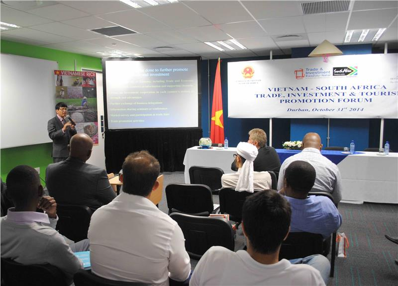 Vietnam South Africa trade relation on the rise