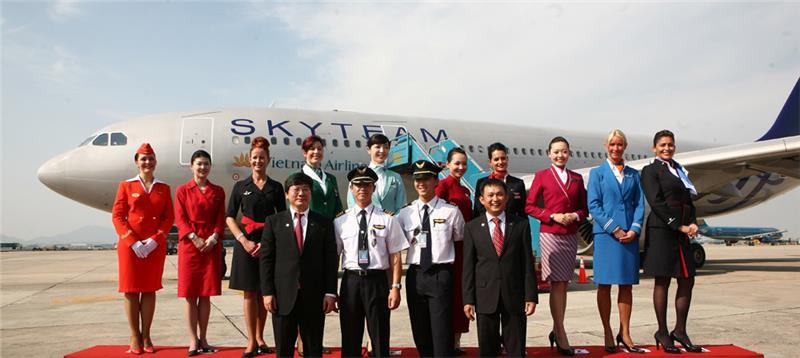 Vietnamairlines join skyteam