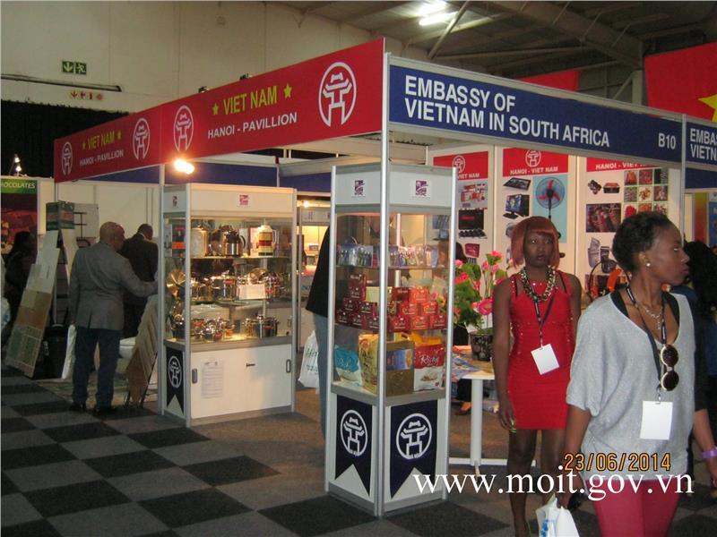 Vietnamese workshop in SAITEX Africa 2014
