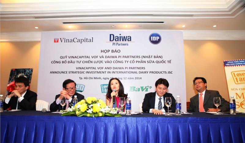 Vinacapital VOF and Daiwa Pi Parners announce strategic investment in International Dairy Products JSC