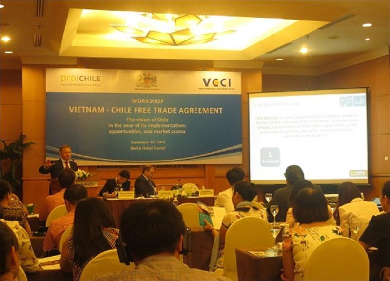 Workshop Vietnam-Chile Free Trade Agreement