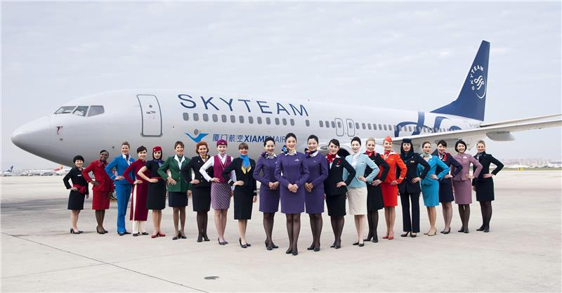 Xiamen joining event of SkyTeam