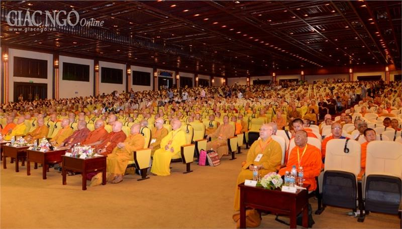 Deligates in the Closing Ceremoney Vesak 2014