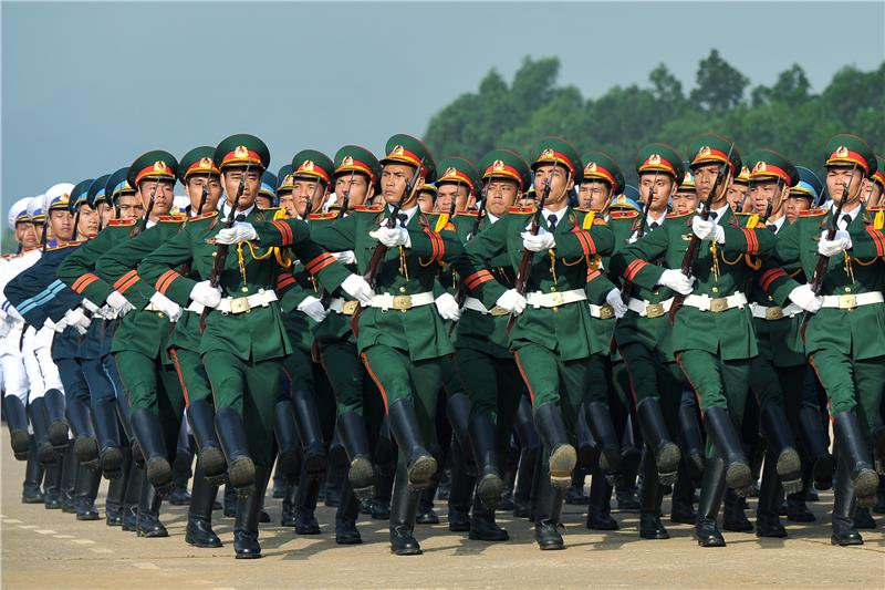 Vietnam Reunification Day atmosphere spreads nationwide