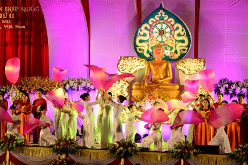 Performances in Vesak 2014