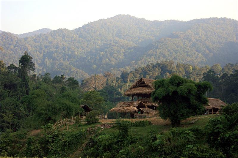 Majestic Truong Son Mountain Range (Annamite Range)