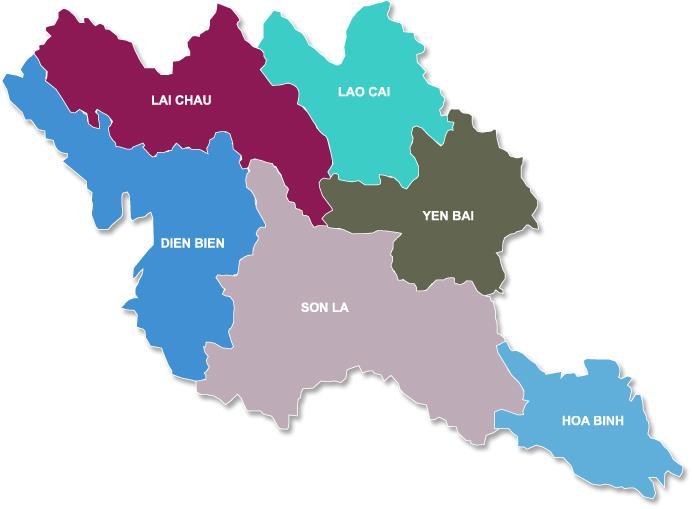 Northwestern Vietnam weather overview
