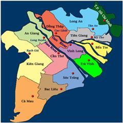 Economy in Mekong River Delta Vietnam