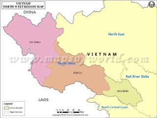 Northwest Vietnam geography overview