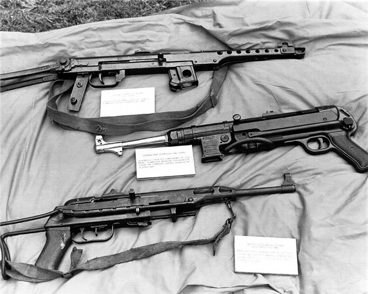 Captured North Vietnam Army weapons