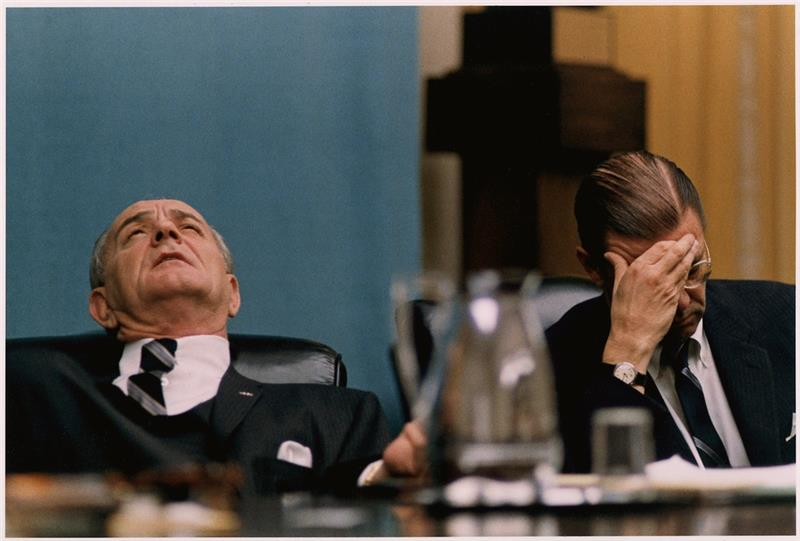 Mood of President Lyndon B. Johnson