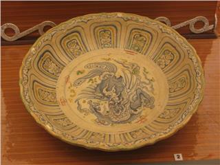 Thang Long pottery in Thang Long Citadel