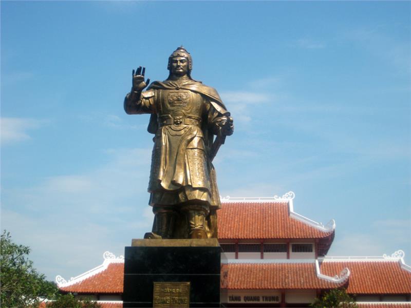 Statue of Emperor Quang Trung
