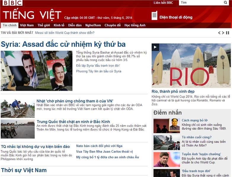BBC in Vietnamese