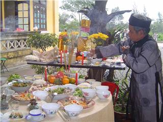 Typical dishes on Vietnamese Tet holiday