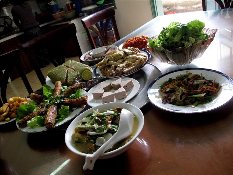 Tet in Vietnam - Traditional food