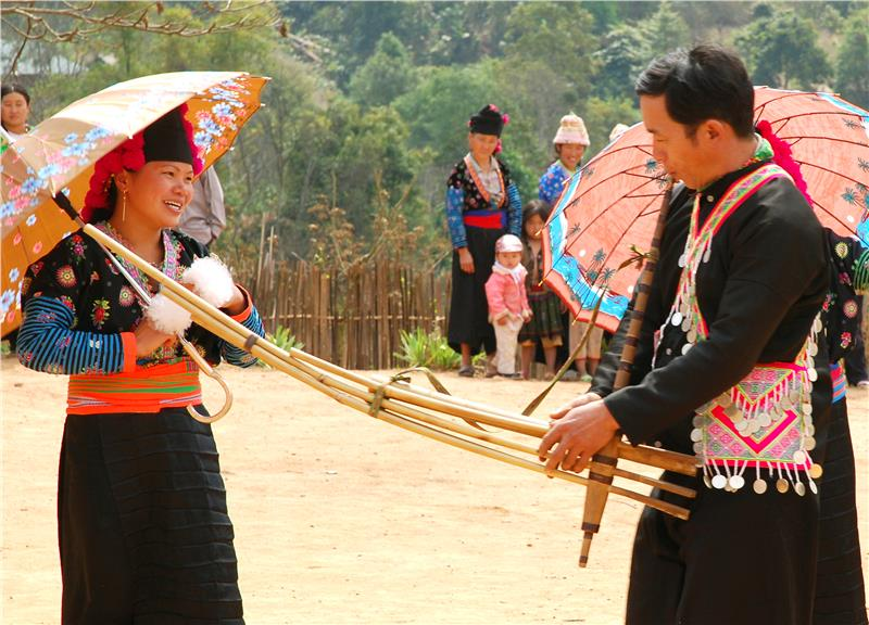 Khen sound of Hmong people
