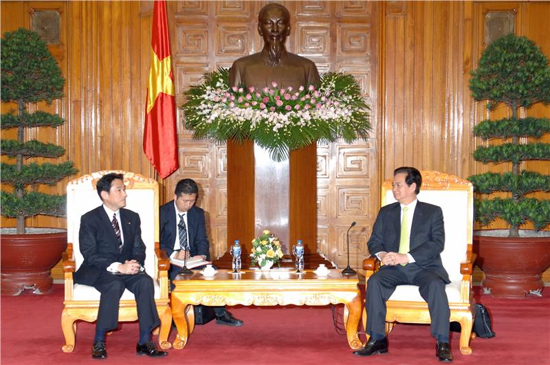 PM of Vietnam and Japanese Foreign Minister