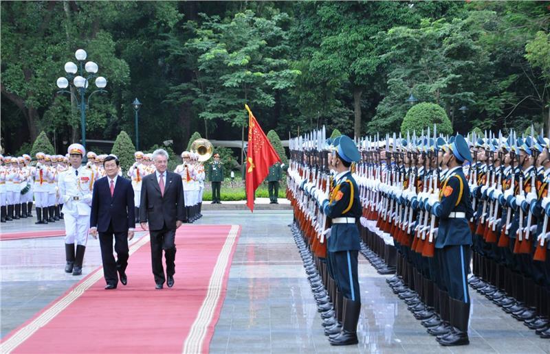 President of Austria visits Vietnam