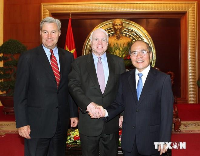 Senator John McCain visit Vietnam