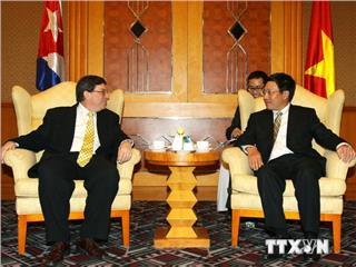 Vietnam Cuba relation is more tightened