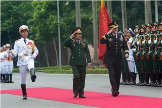 Gen Martin Dempsey visited Vietnam