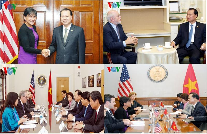 The working visit of Deputy Prime Minister in the US