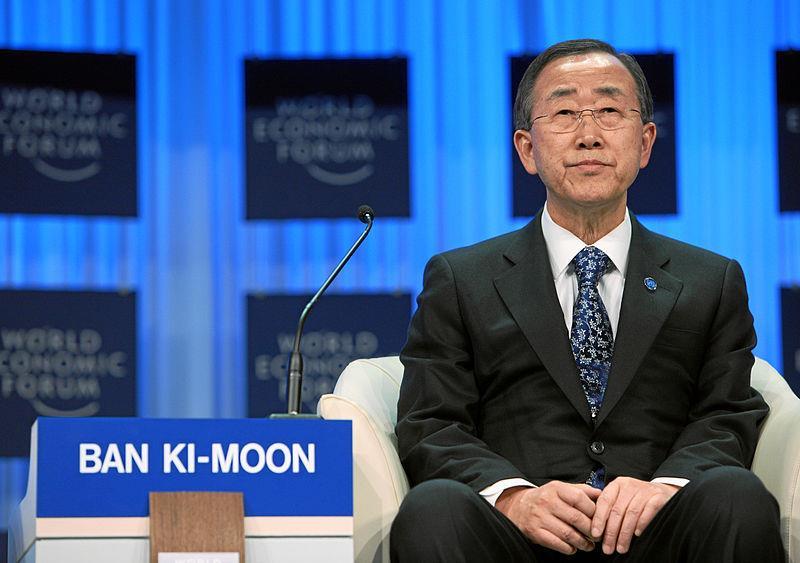 UN General Secretary - Ban Ki-moon