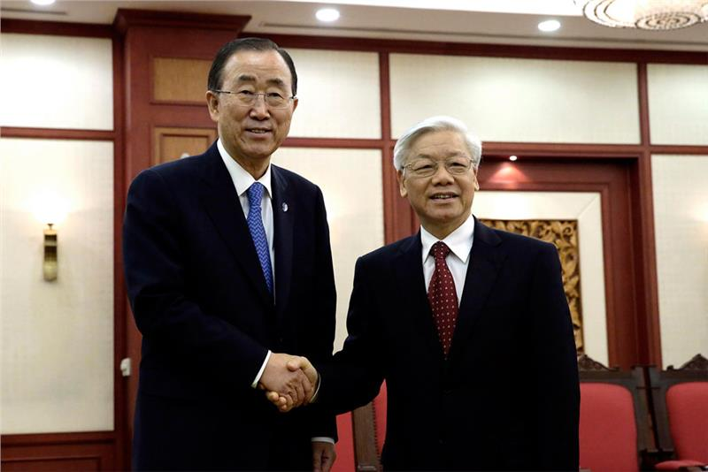 UN General Secretary on his visit to Socialist Republic of Vietnam