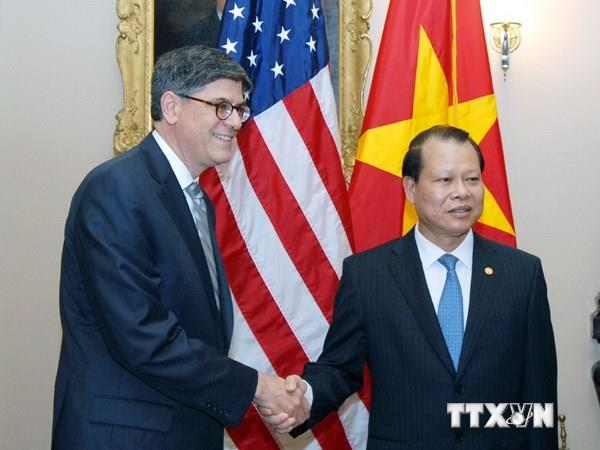 Vietnam US exchange economic supports