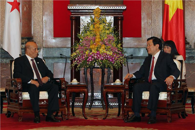 Vietnam President and Chairman of Algerian National Congress