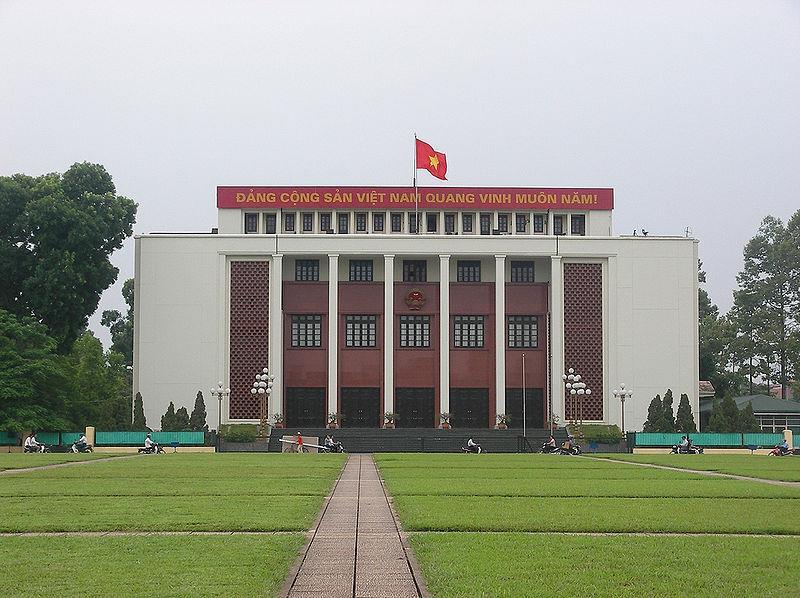 Vietnamese National Assembly convened at Ba Đình Hall