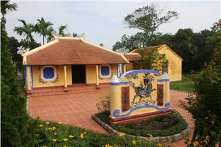 The clan ancestral house in Vietnam